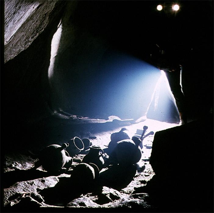 Cristian Lascu - Prehistoric Burial Site, Apuseni Range - Fotografi Romani