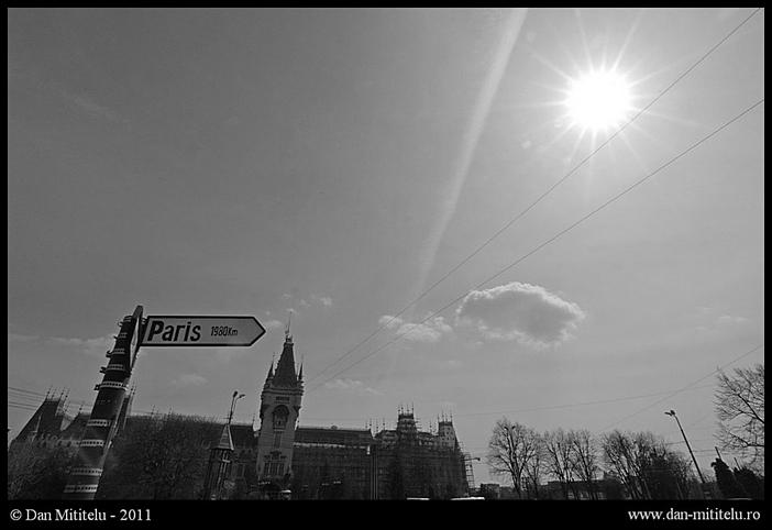 Dan Mititelu - Iasi -  Paris 1980 km - fotografiromani.ro
